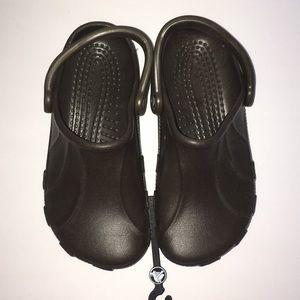 Name Brand Crocs size 6 (W) 4 (M).